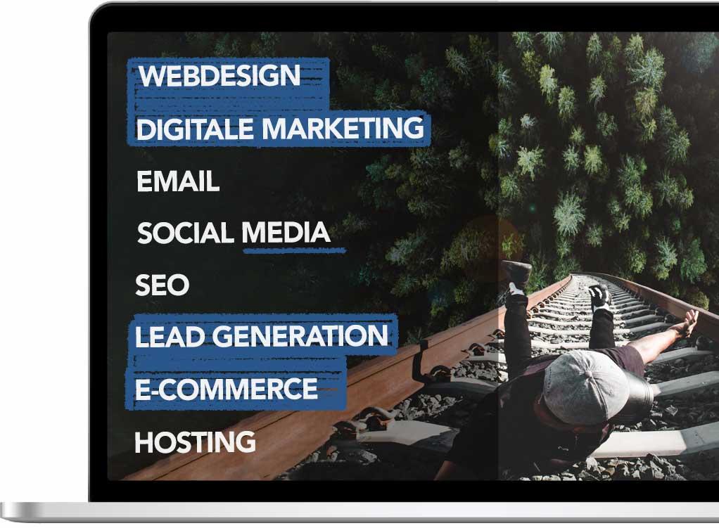 Digitale overzicht dienstenaanbod